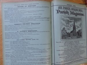 Image of St Paul's Herne Hill Parish Magazine