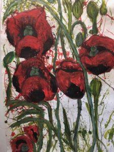 Image of poppys